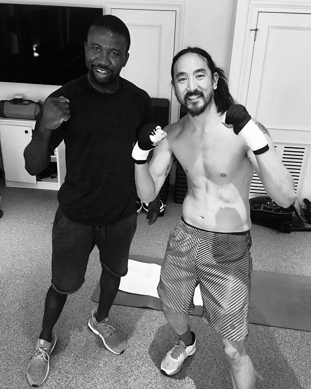 Happy birthday, @steveaoki! Have a kickass day - thanks for stopping by! 💪🏼