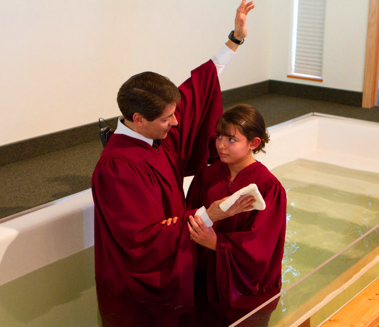 Hannah was baptized just after her 14th birthday, in the Eureka Seventh-day Adventist Church in Montana.