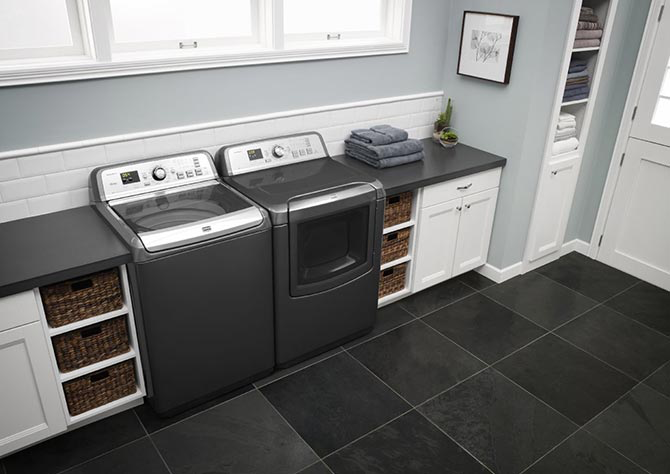MAYTAG   Maytag offers the largest capacity agitator washer at 6.0 Cu. Ft. And they do so with a promise of dependability. That's why every new Maytag is backed by a decade of dependability thanks to a 10-year limited parts warranty.