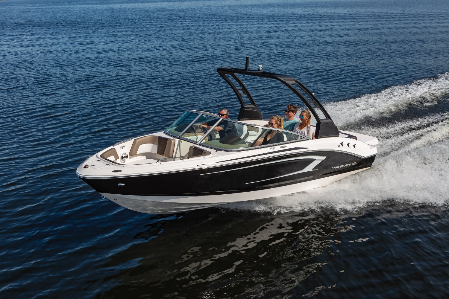 21' Chaparral H2O 250hp I/O with wakeboard tower