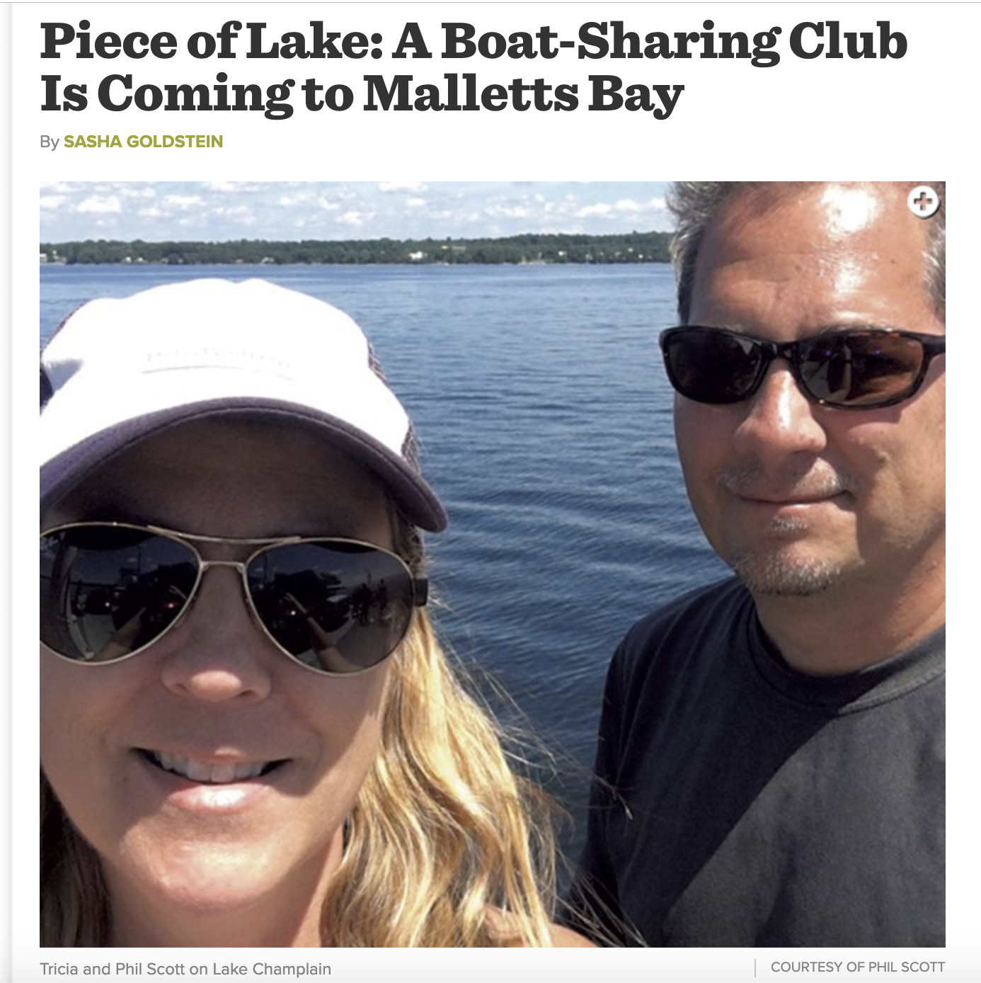 Come visit the boats in the water at Bay Harbor Marina. - Read more about the club from a a recent Seven Days article by Sasha Goldstein.