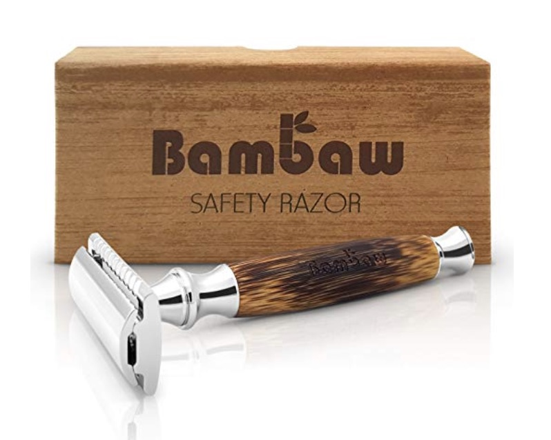 REUSABLE BAMBOO RAZOR - a CLEAN shave, get i?