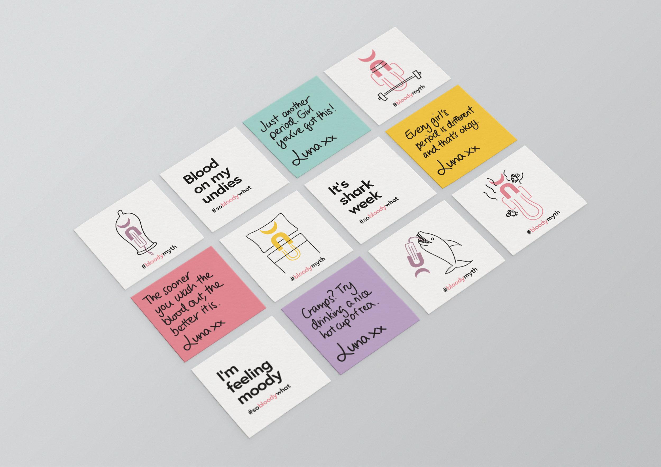 Luna empowerment cards