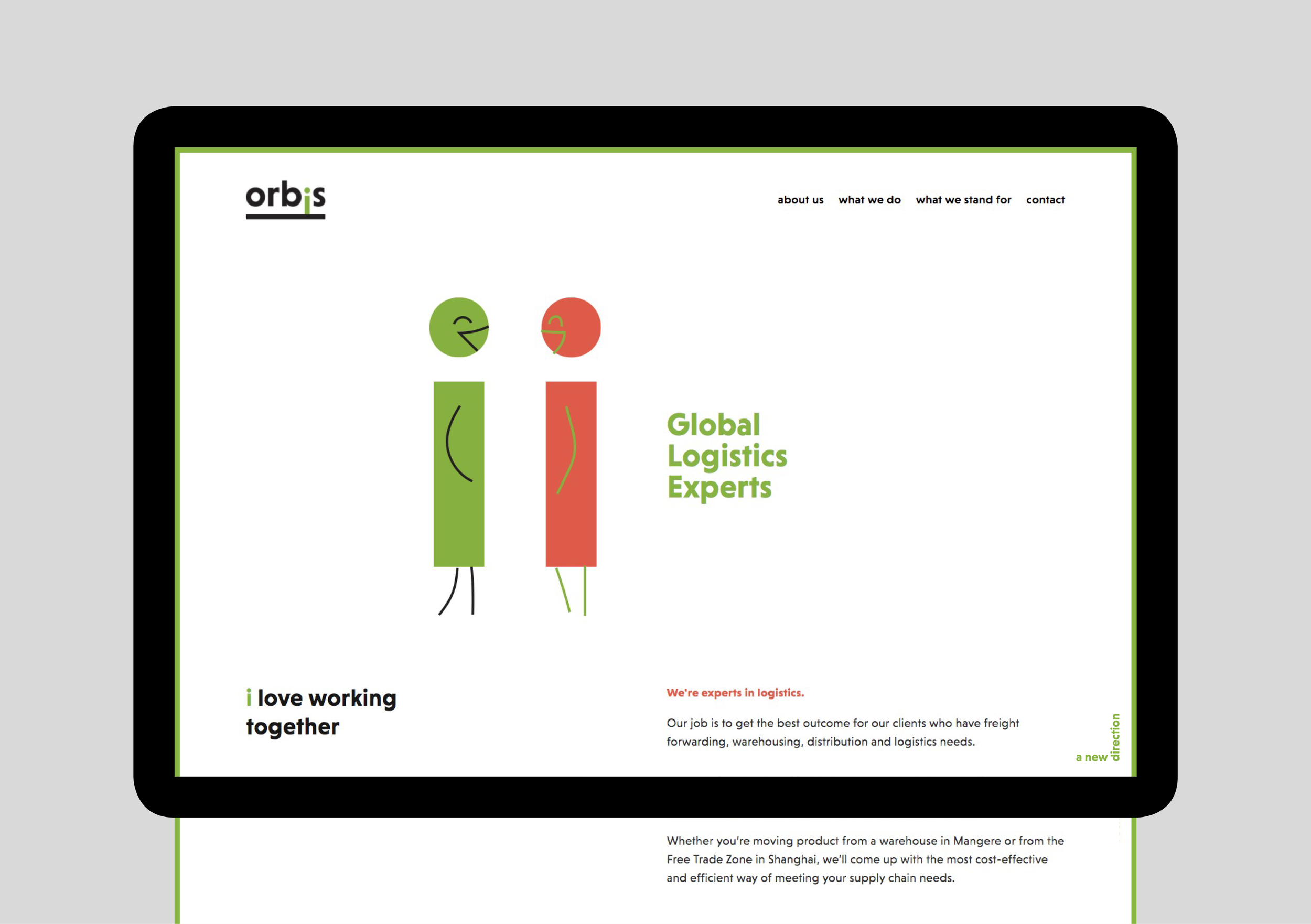Orbis website