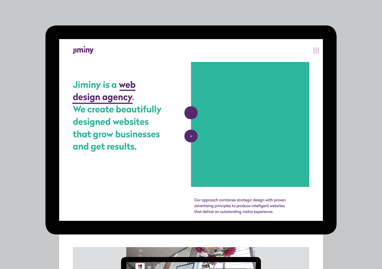Jiminy website home page