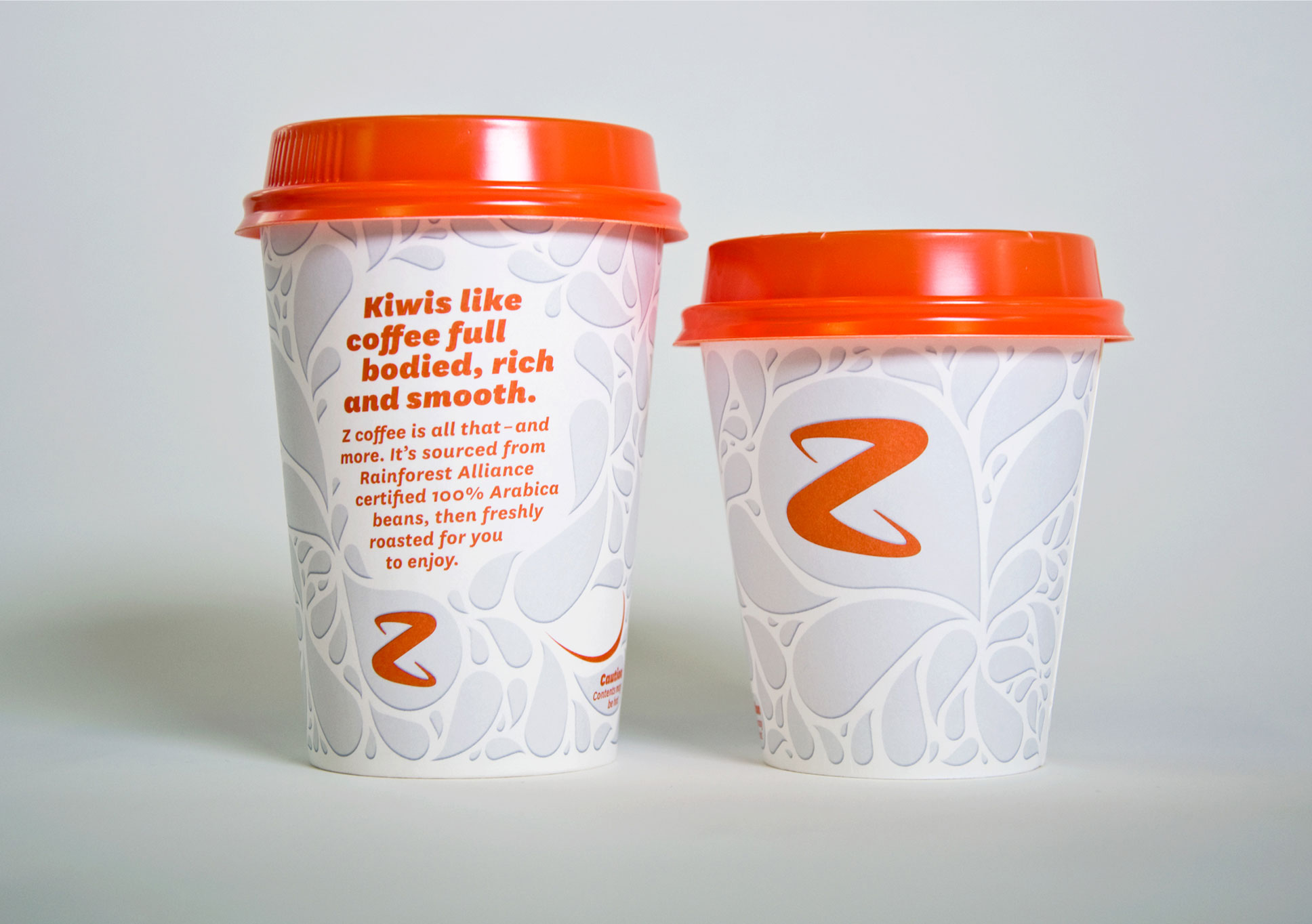 Z Energy coffee cup