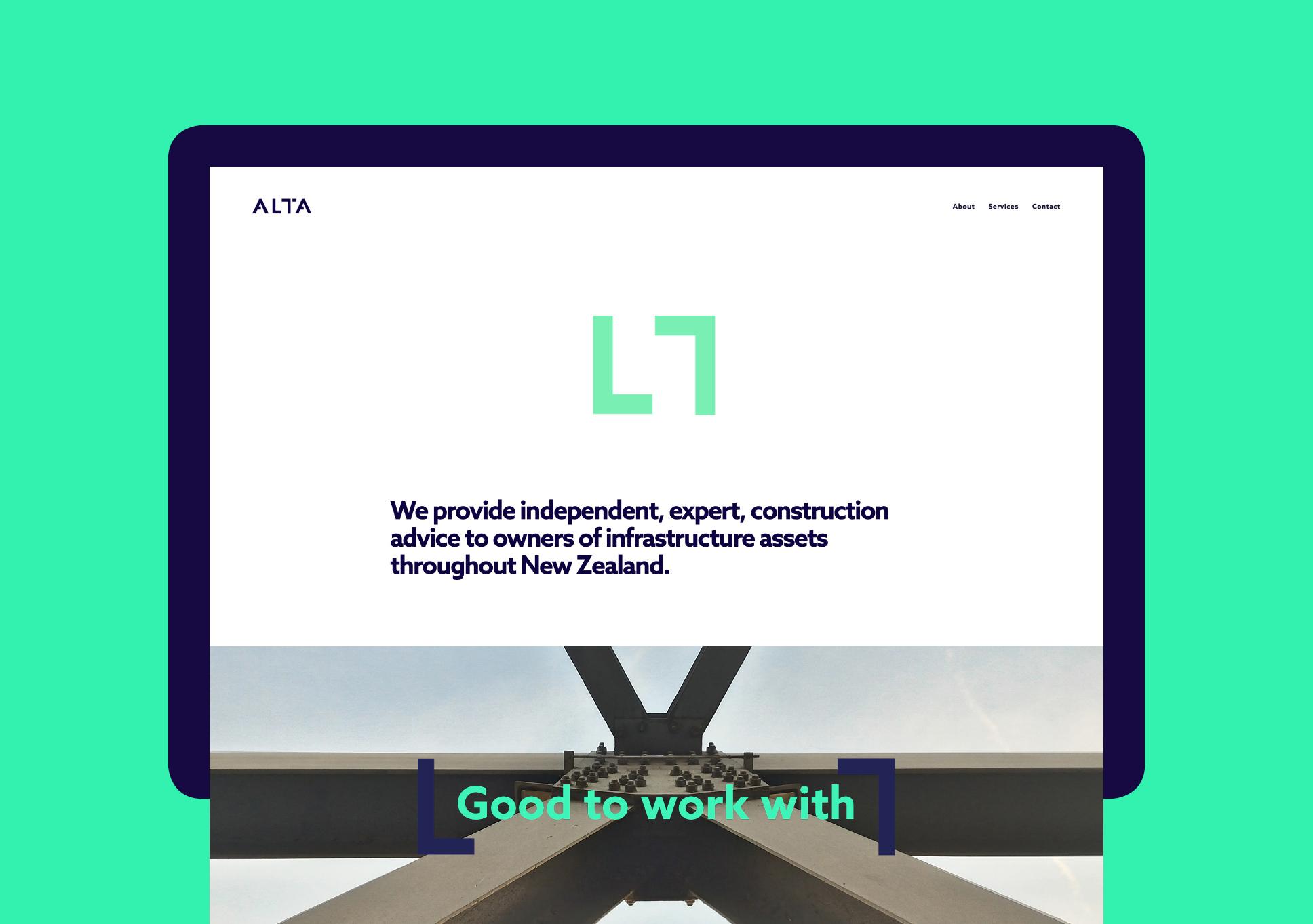 Alta website