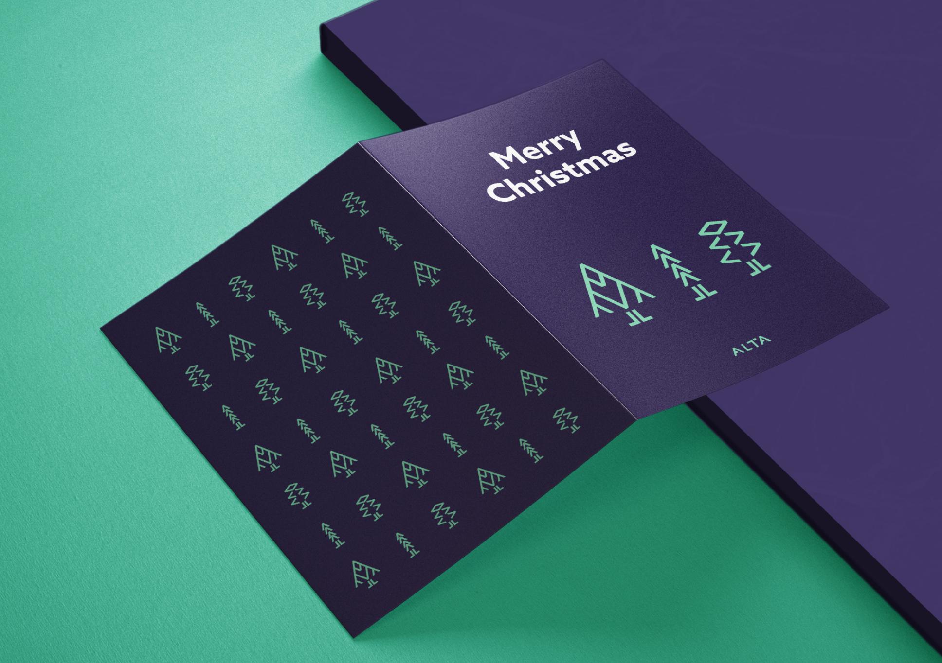 Alta Christmas card