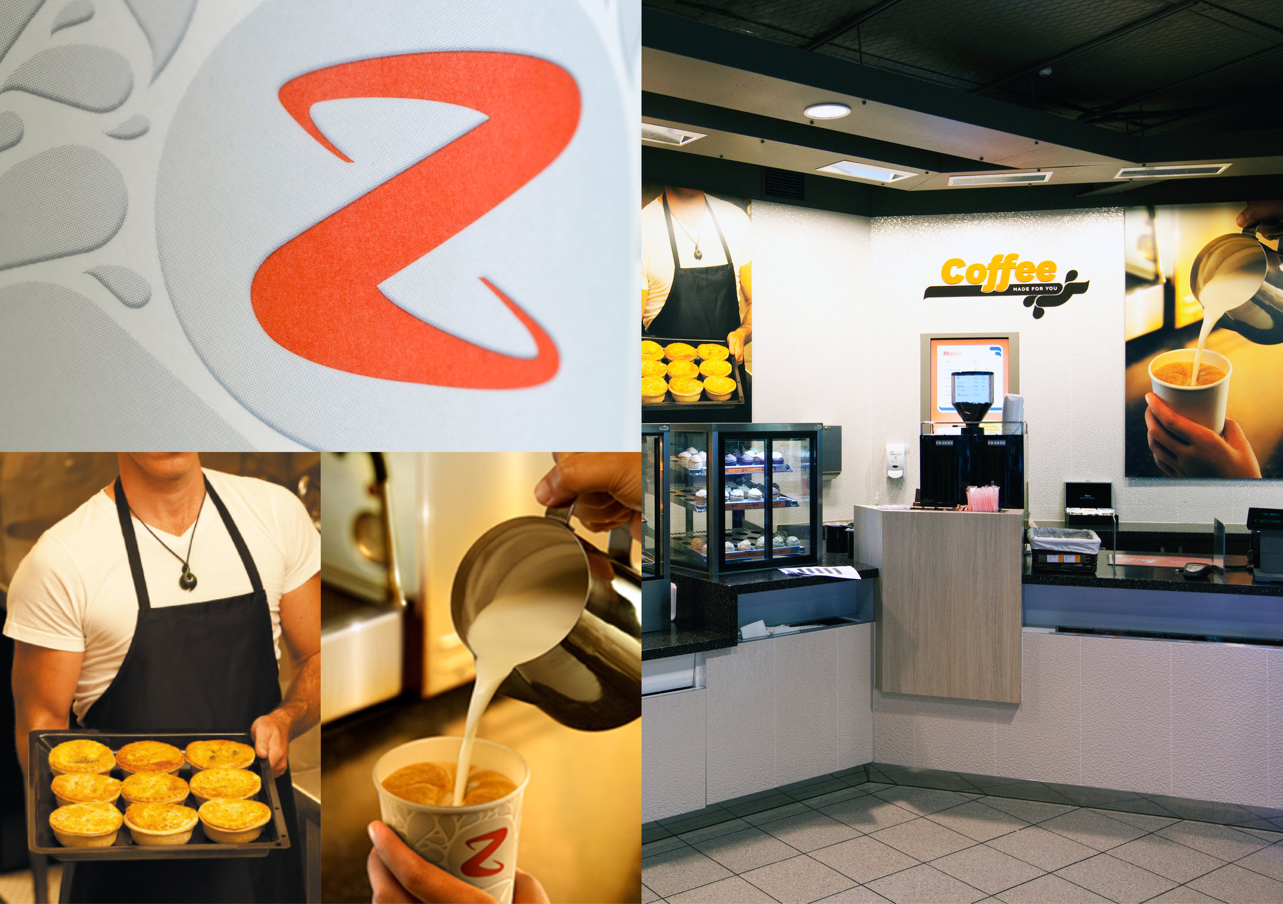 Z Energy photography and signage
