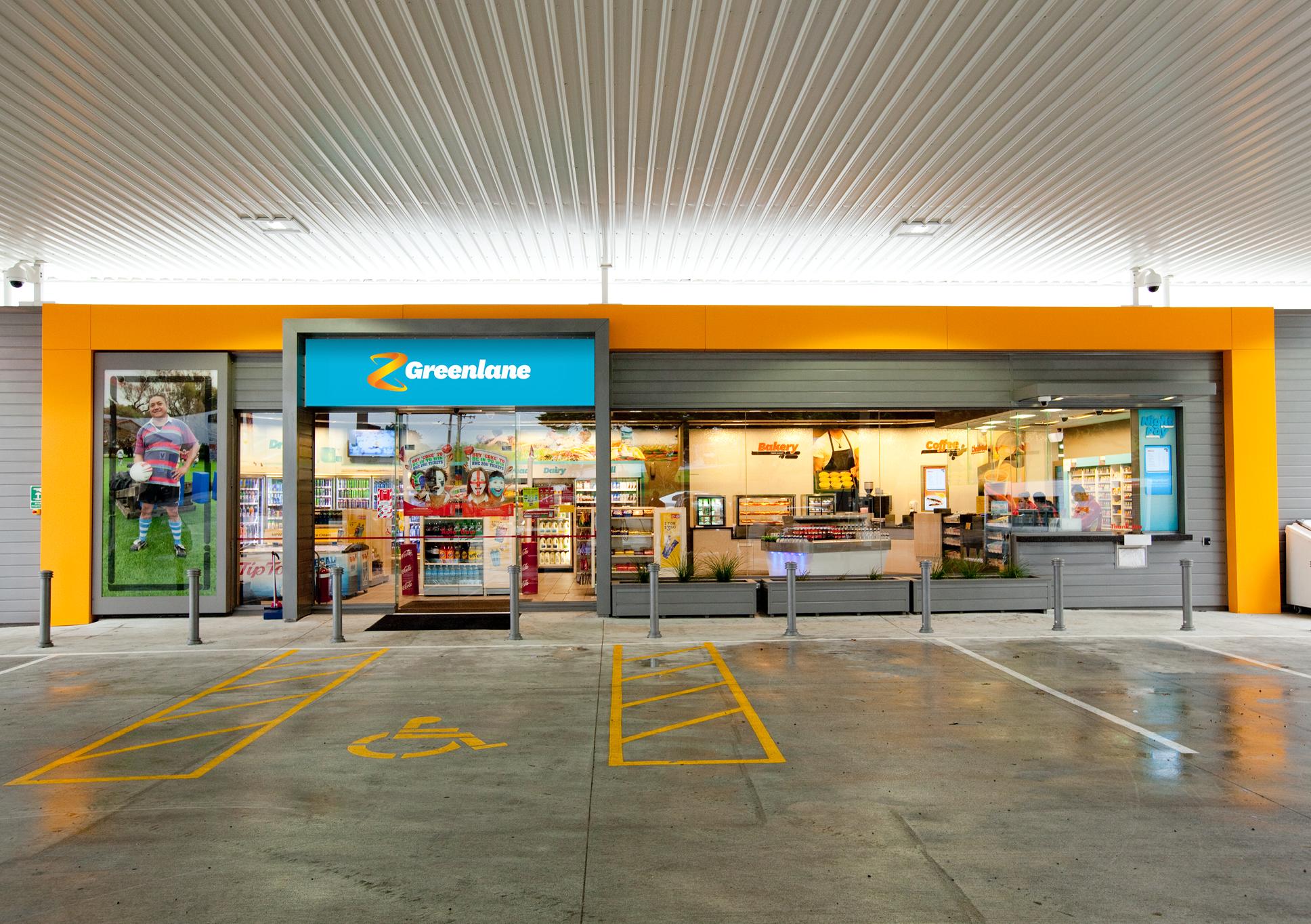 Z Energy shop front