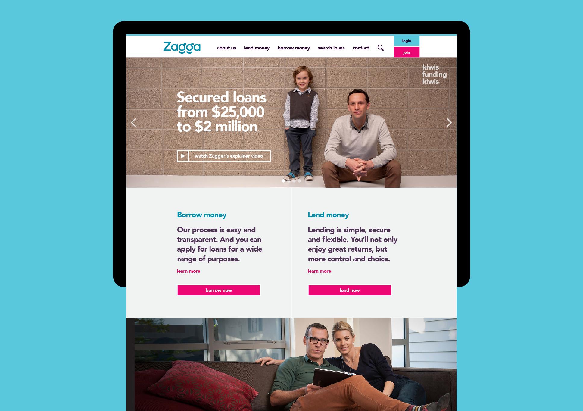 Zagga website