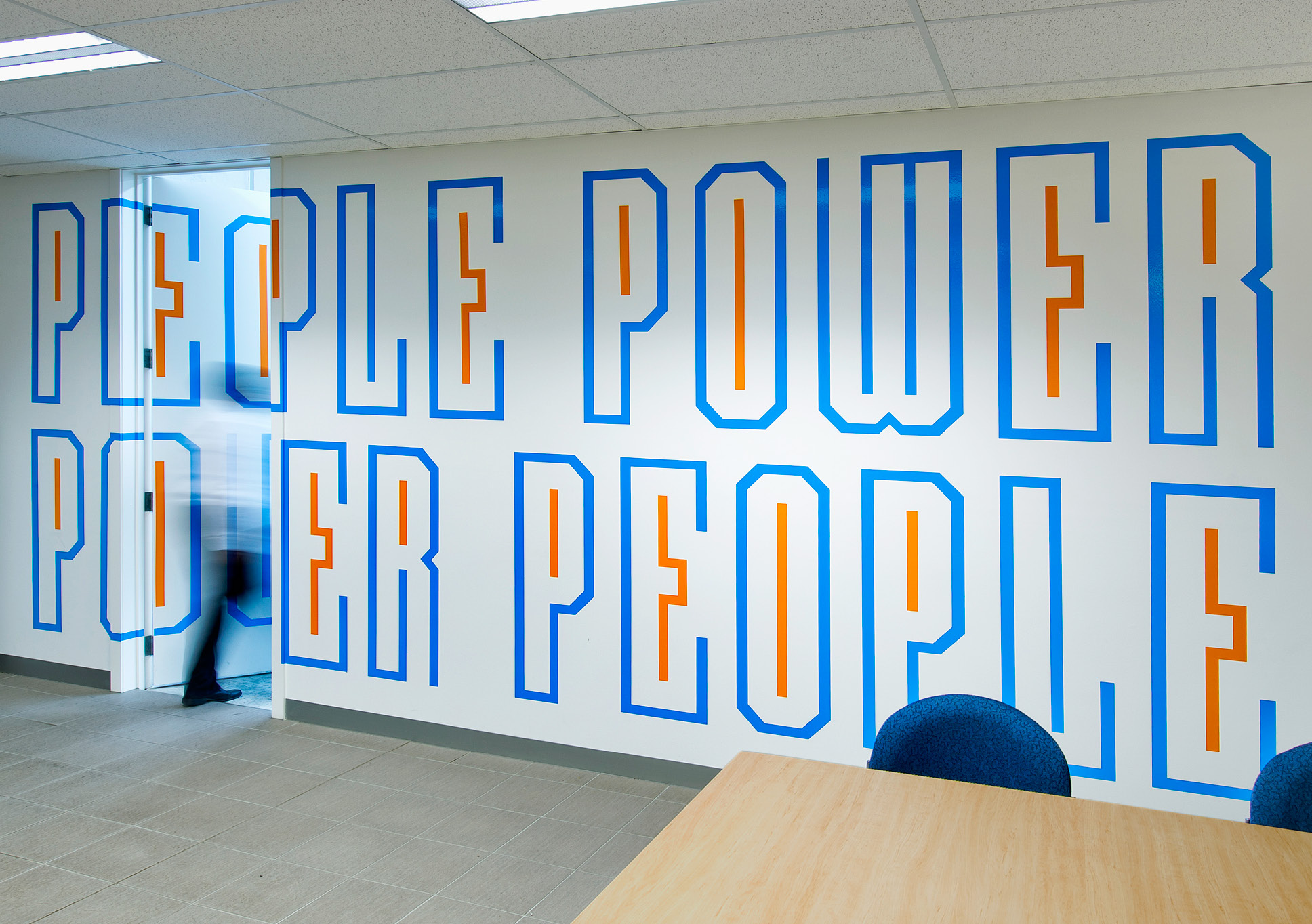 Electrix office branding