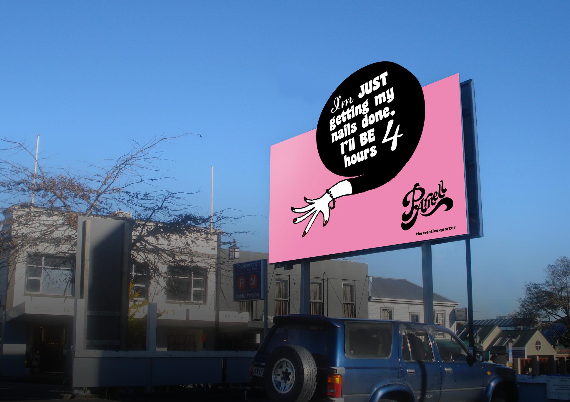 Parnell billboard