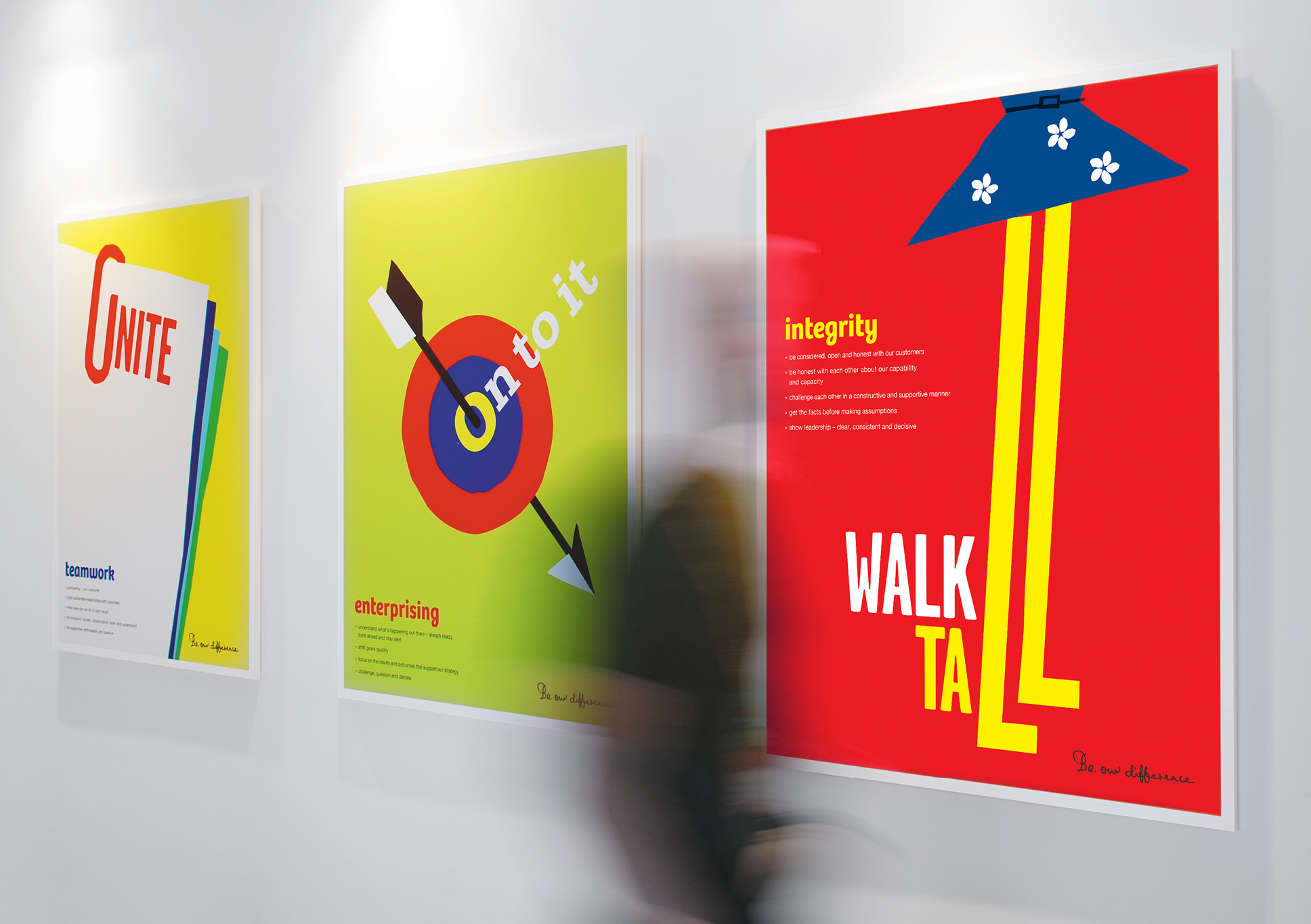 Lumley values posters