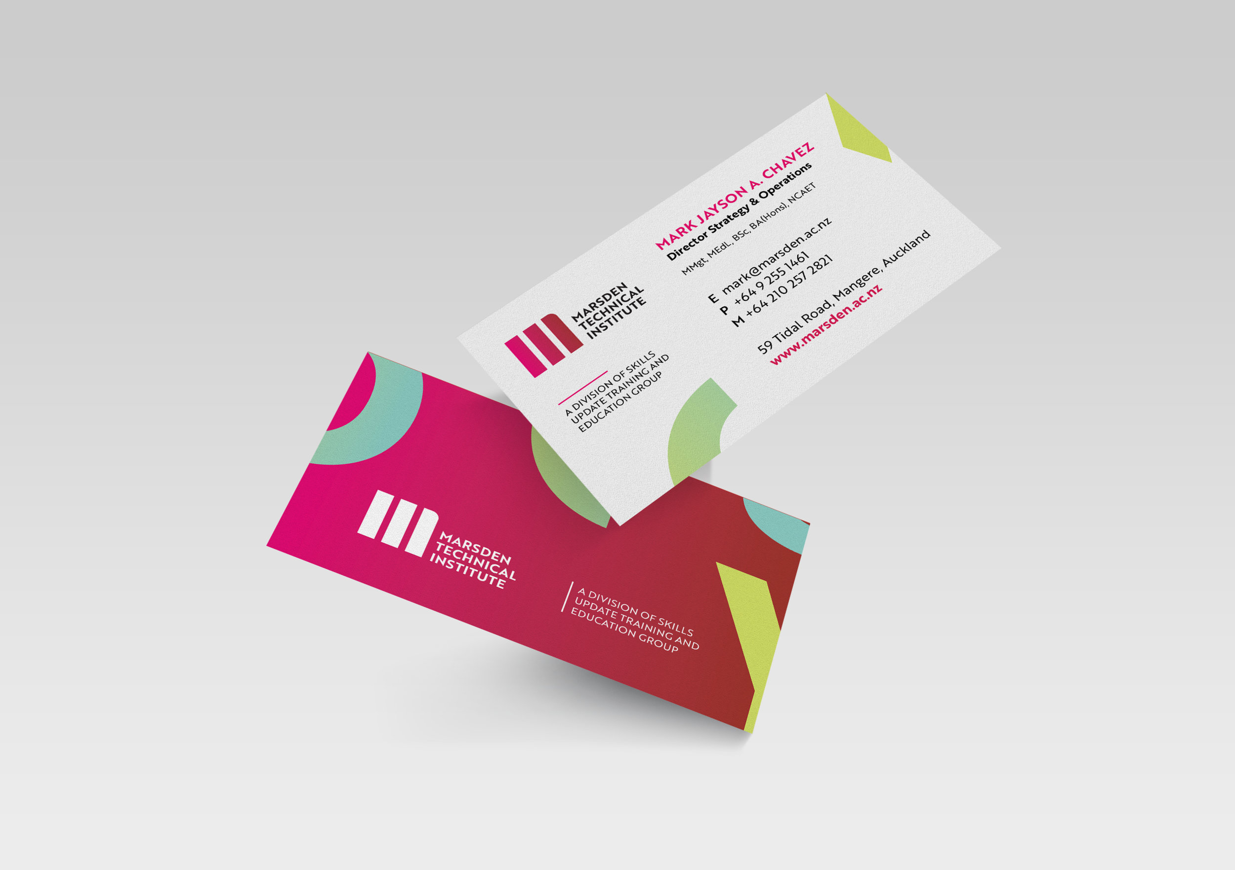 Marsden business card