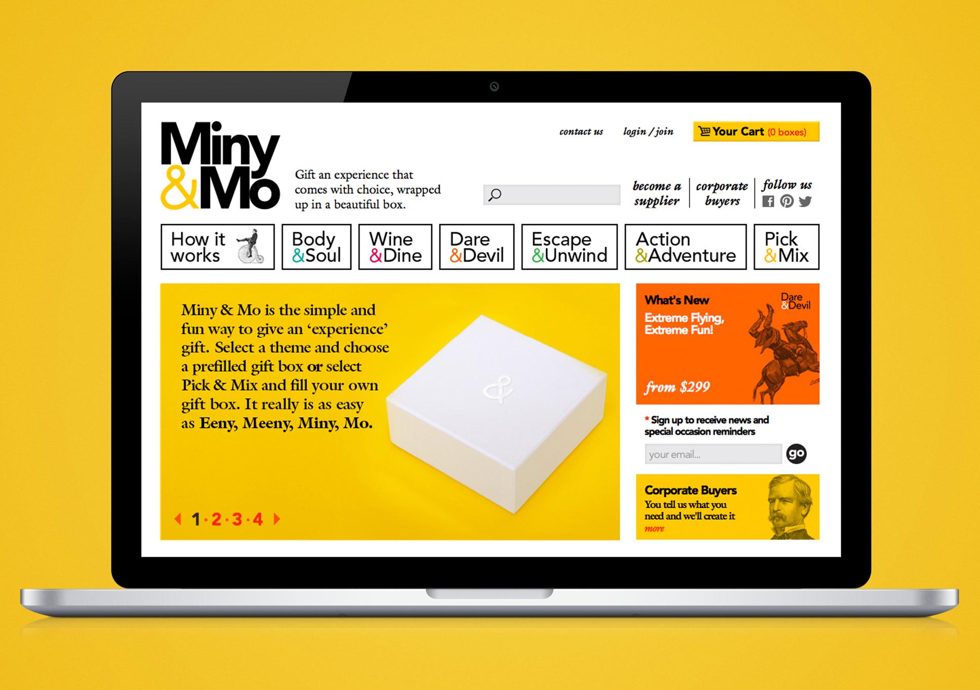 Miny&Mo website