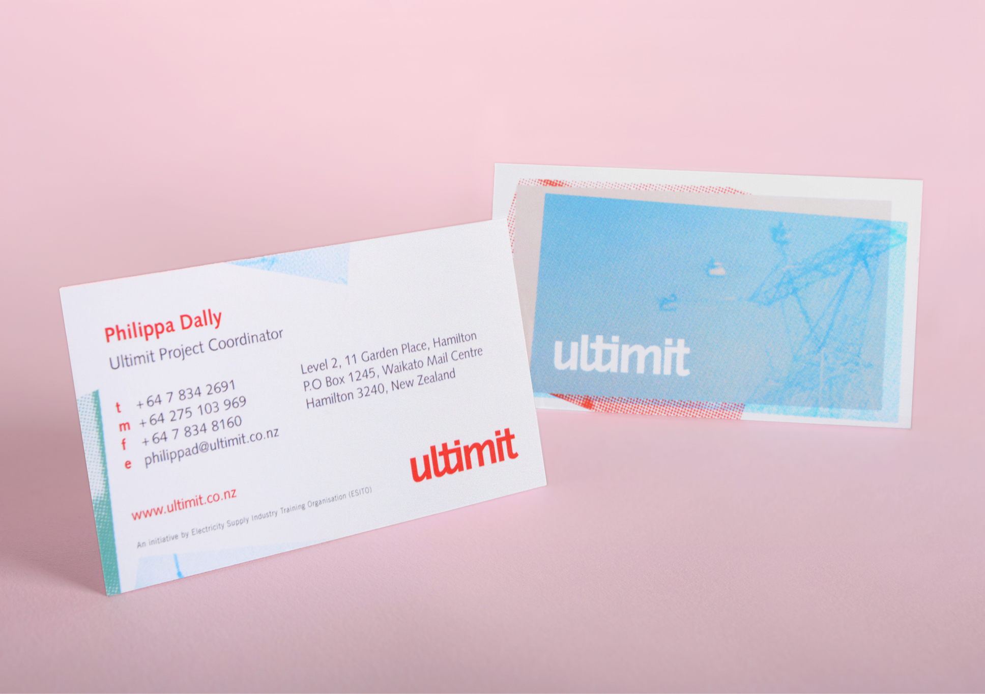 Ultimit business cards
