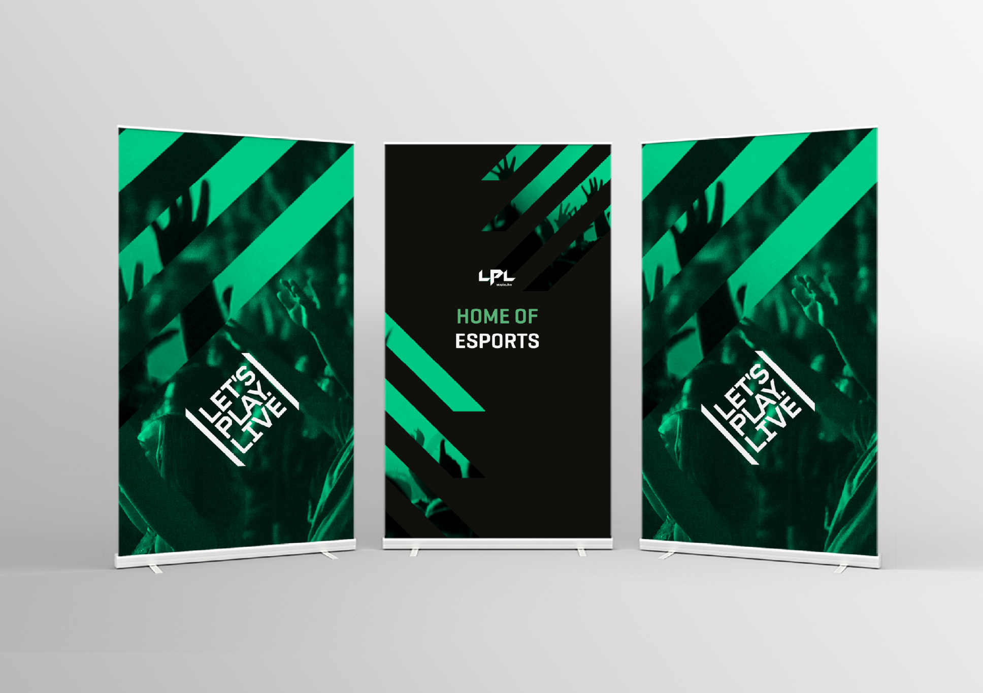 LPL pull-up banners