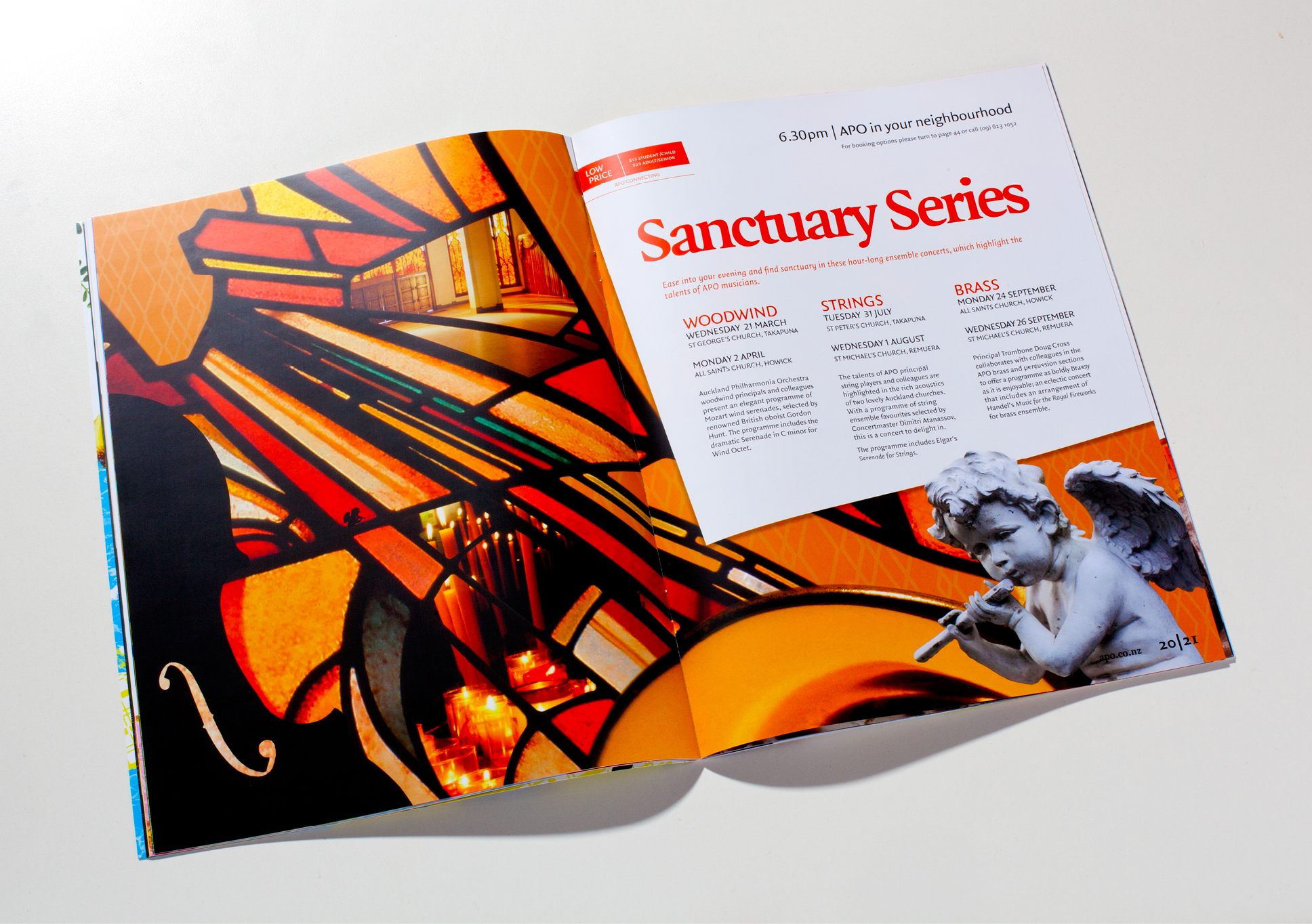 APO Sanctuary Series spread