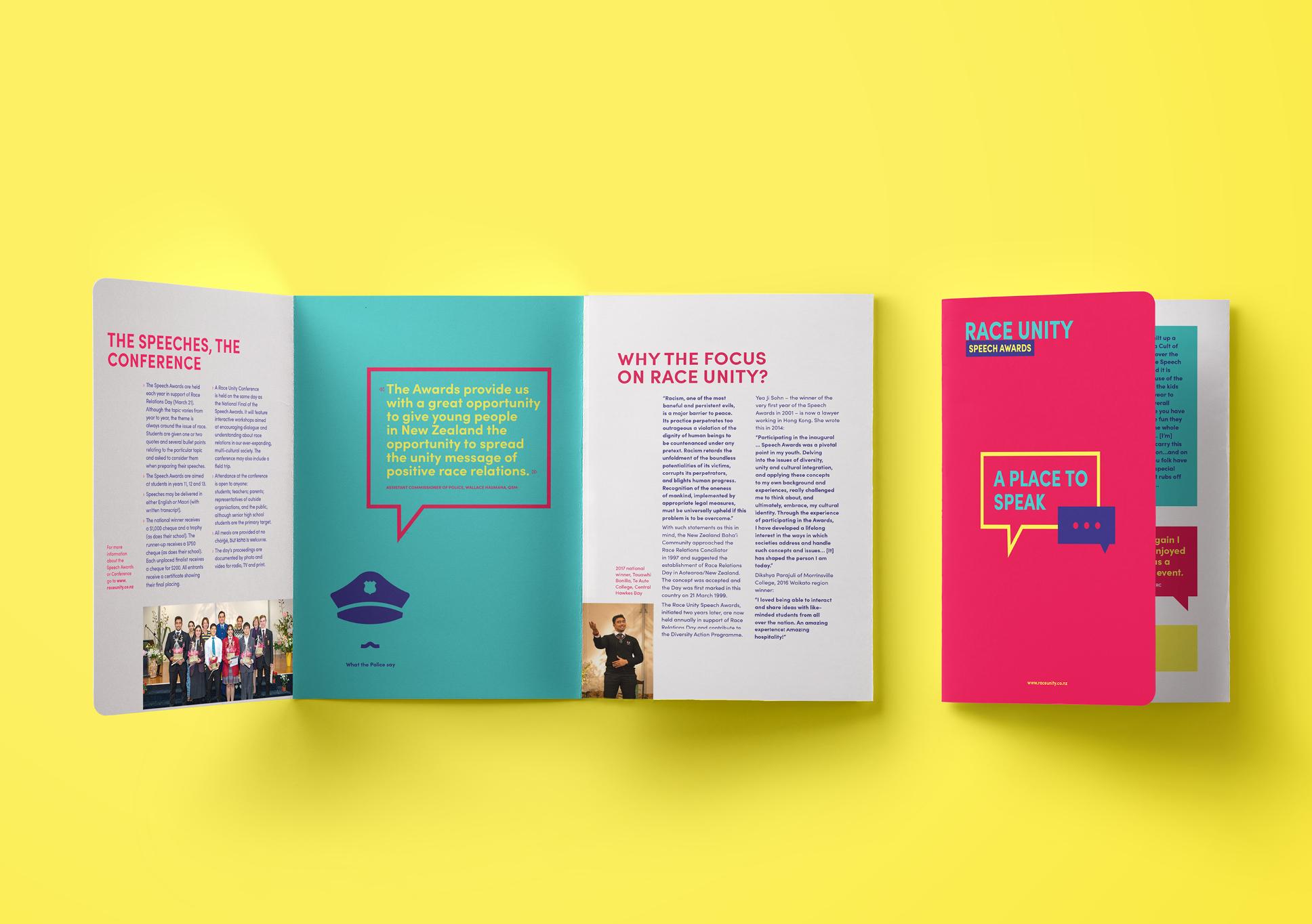 Race Unity brochure