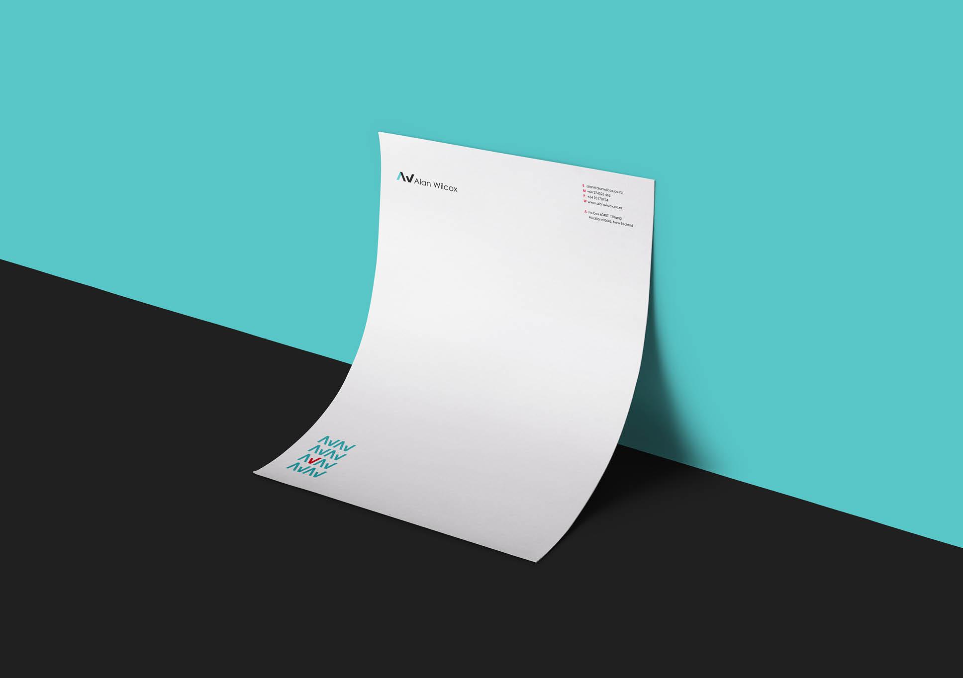 Alan Wilcox letterhead