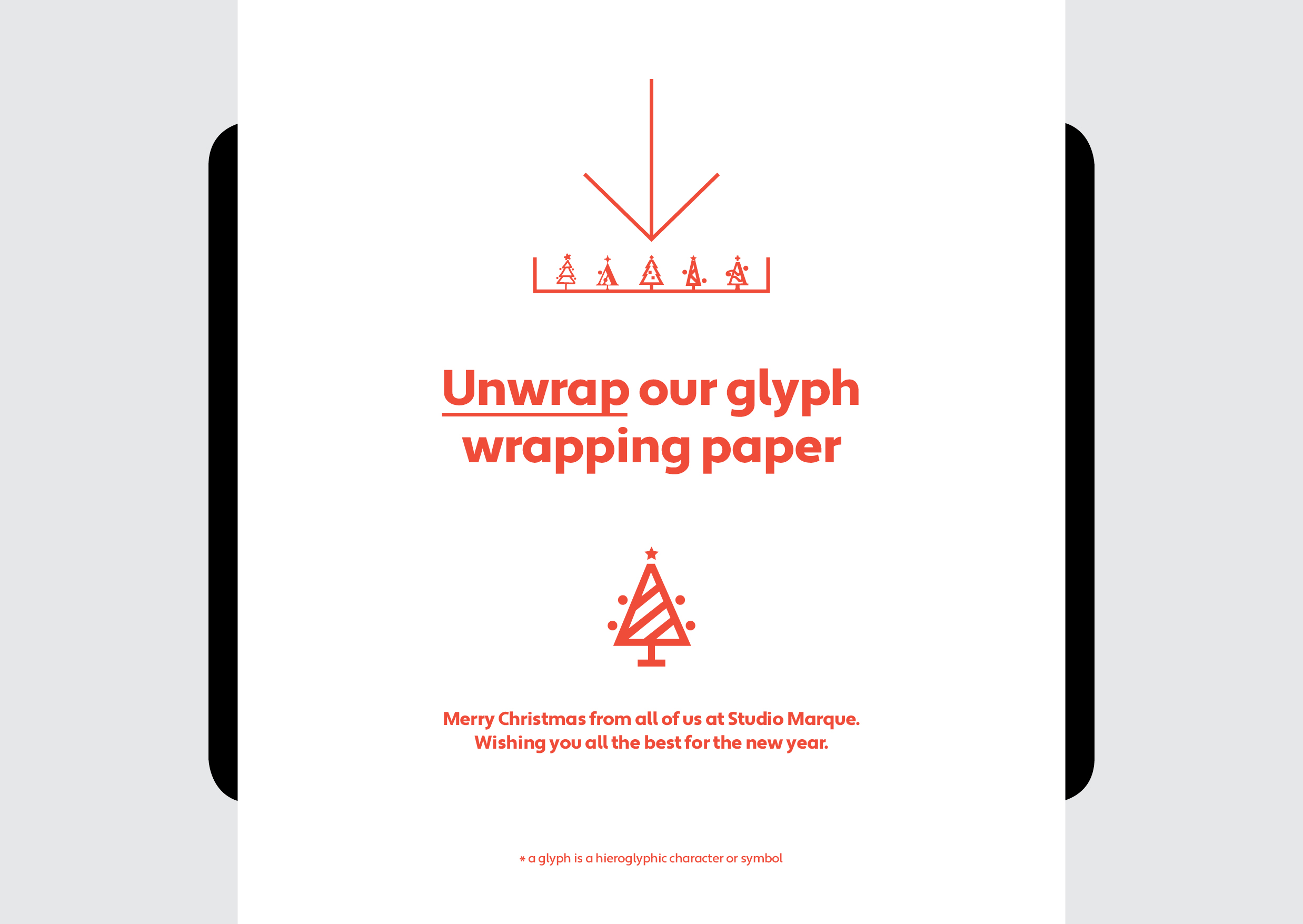 Unwrap our glyph wrapping paper