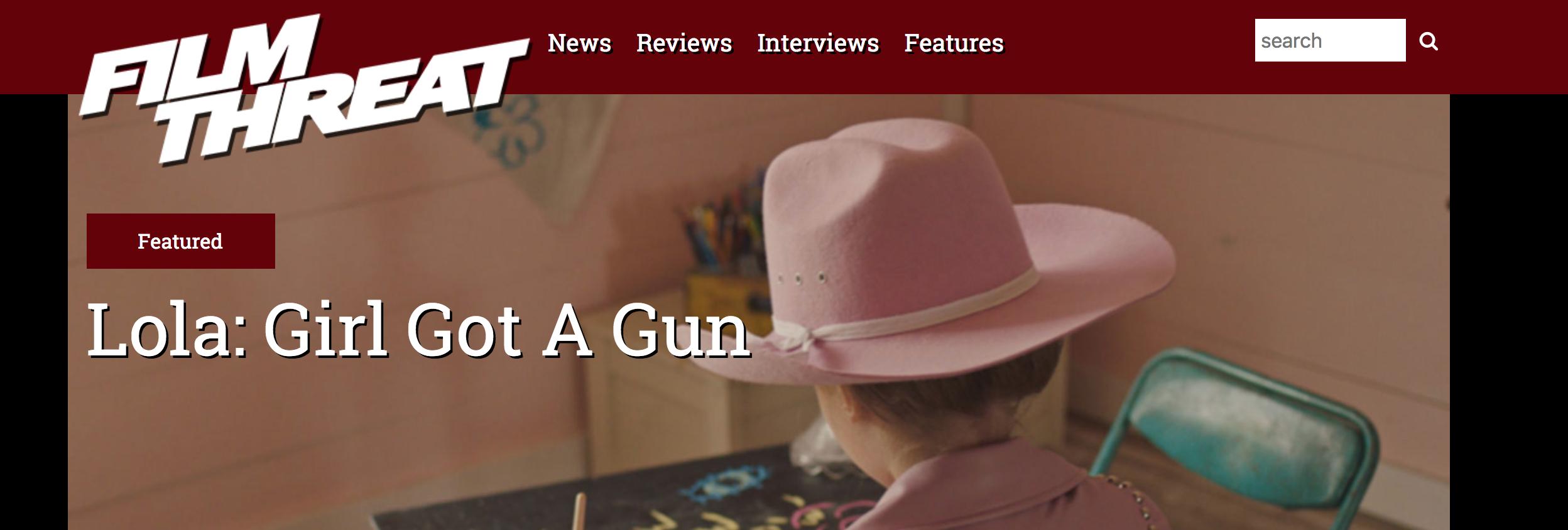 Film Threat | Review of Lola: Girl Got a Gun -