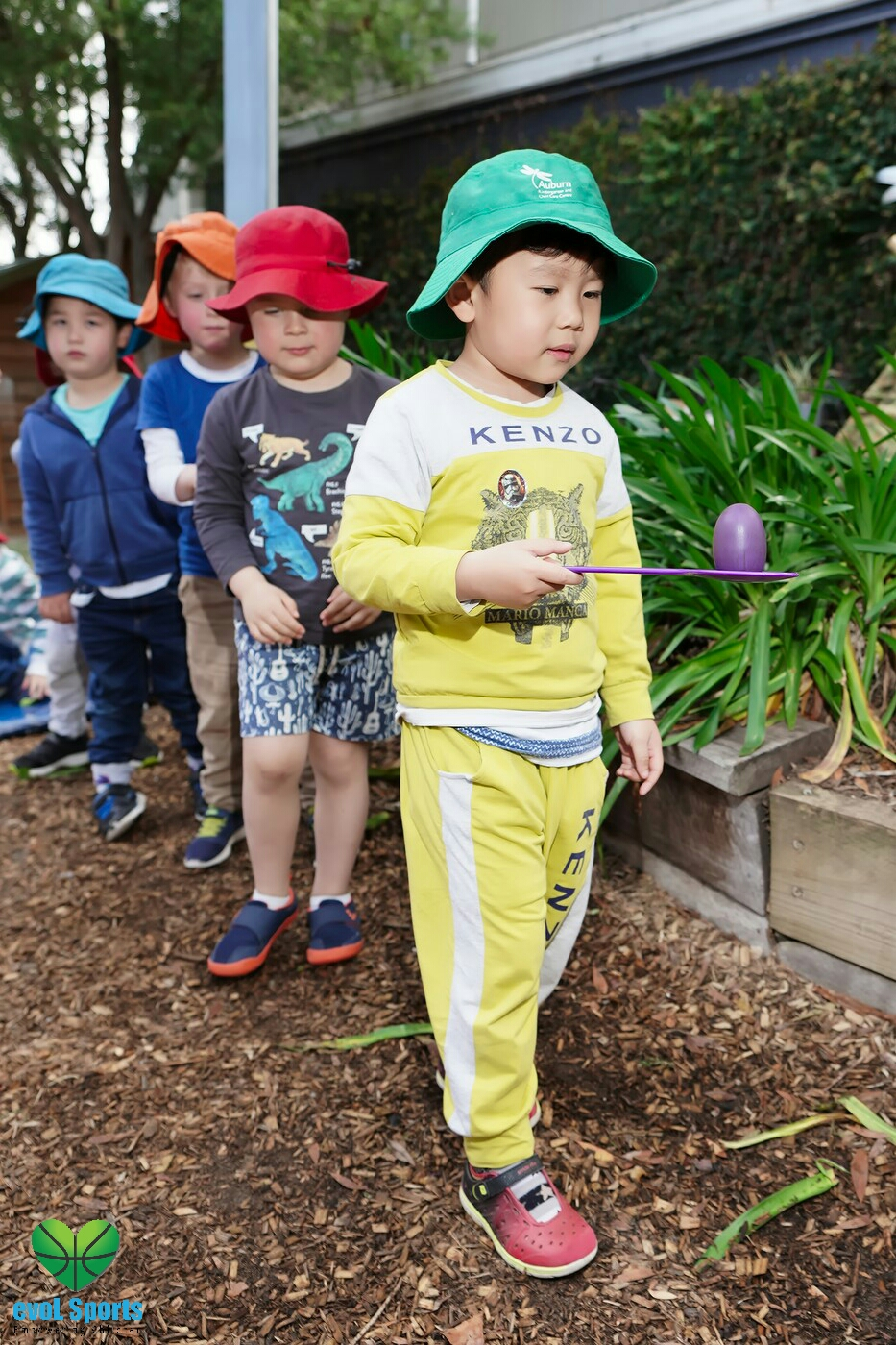 Early learning centre sports incursion