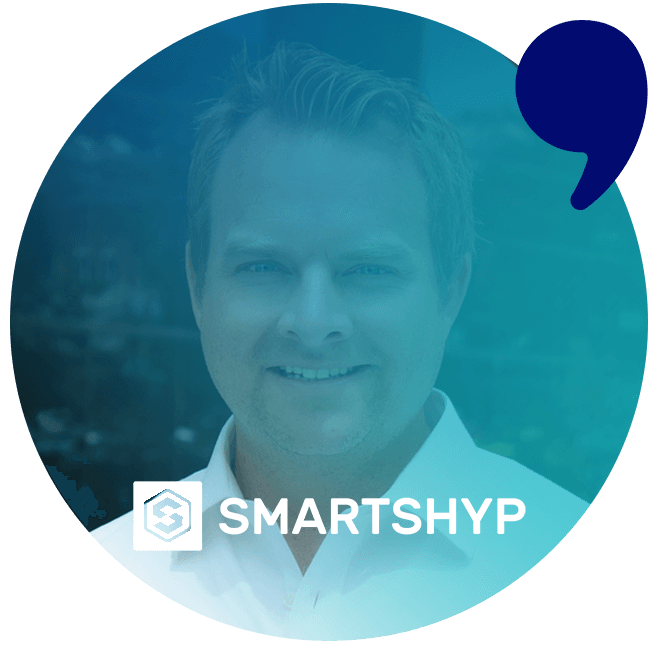 Smartshyp testimonial for Top Content Agency, Comma Copywriters