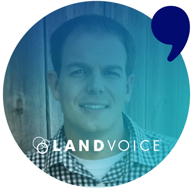 Landvoice testimonial for Top Content Agency, Comma Copywriters