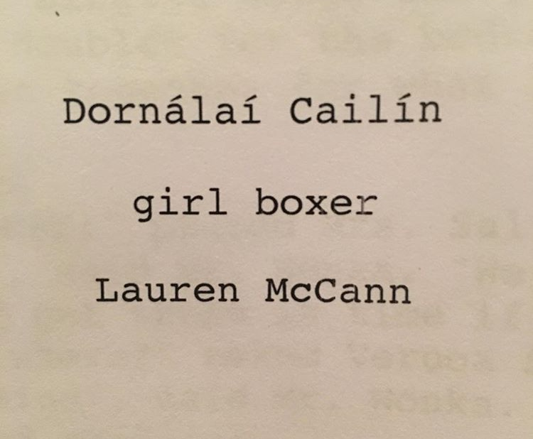 Lauren's back to writing… this is a good one! - …Million Dollar Baby meets Snatch