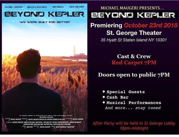 Looking forward to the Premier of Beyond Kepler - Click here to see the preview.