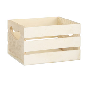 Wooden crate (small)  Price: $3.00  Qty: 4