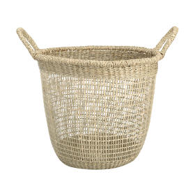 Seagrass basket - tall  Price: $6.00  Qty: 2