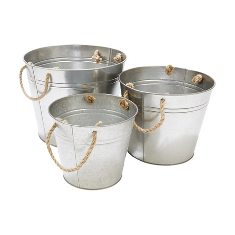 Metal Tub Set  Price: $10.00  Qty: 2