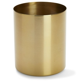Planter - gold  Price: $3.00  Qty: 6