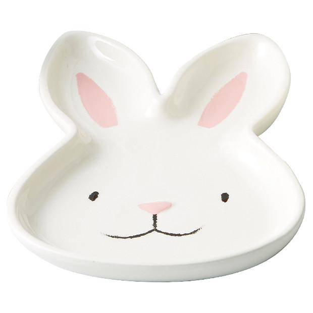 Plate - bunny head  Price: $2.50  Qty: 10