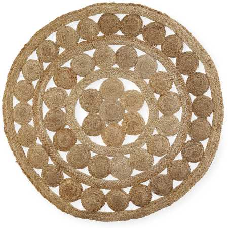 Jute rug with cut outs  Price: $40.00  Qty: 2