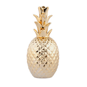 Pineapple - gold (large)  Price: $4.00  Qty: 6