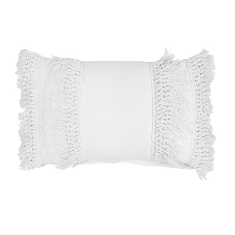 Fringe cushion - cream  Price: $6.00  Qty: 4