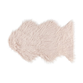 Fluffy rug - blush (small)  Price: $10.00  Qty: 2