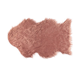 Fluffy rug - pink (small)  Price: $10.00  Qty: 1