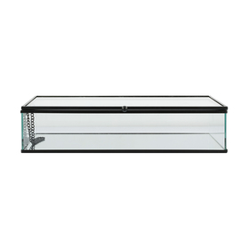 Glass trinket box - black (large)  Price: $6.00  Qty: 2
