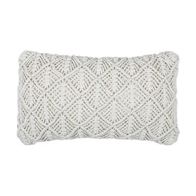 Woven cushion - cream  Price: $6.00  Qty: 4