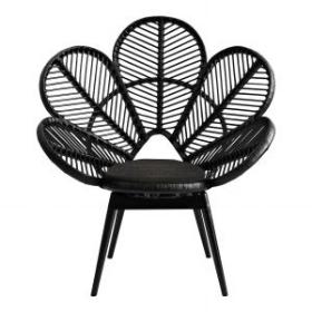 Love chair - black  Price: $60.00  Qty: 2