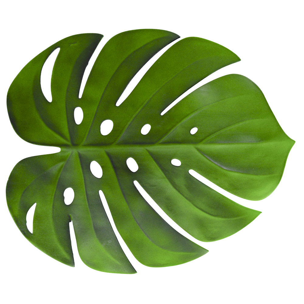 Monstera leaf place mat  Price: $0.50  Qty: 24