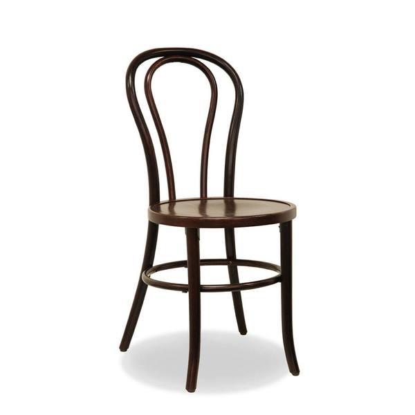 Bentwood chair - walnut  Price: $8.00  Qty: 30