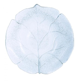 Plate - glass leaf (assorted sizes)  Price: $4.00  Qty: 7