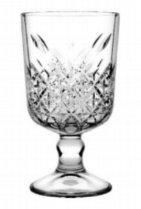 Crystal timeless goblet 320ml  Price: $3.00  Qty: 30