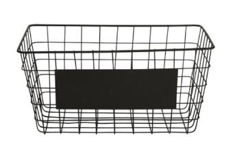 Blackboard basket  Price: $4.00  Qty: 2